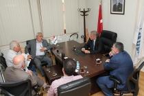 S.S. İstanbul İnşaat Malzemeleri ve Seramikçiler Toplu İşyeri Yapı Kooperatifi TİMDER Yönetim Kurulu'nu Ziyaret Etti