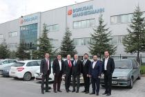 TİMDER Yönetim Kurulu Borusan Mannesmann Bursa Bölge Müdürlüğü'nü Ziyaret Etti