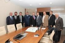 TİMDER Yönetim Kurulu Seranit'i Ziyaret Etti