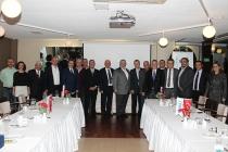 TİMDER Yönetim Kurulu, Geçmiş Dönem Başkanlarıyla Buluştu