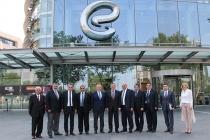 TİMDER Yönetim Kurulu Bülent Eczacıbaşı'nı Ziyaret Etti