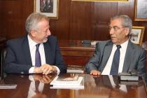 TİMDER Yönetim Kurulu İbrahim Polat'ı Ziyaret Etti
