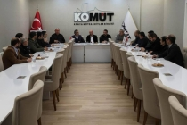 KONTİMDER, Konya Müteahhitler Birliği'ni (KOMÜT) ziyaret etti