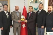 KONTİMDER Yönetim Kurulu Konya Emniyet Müdürünü ziyare etti.