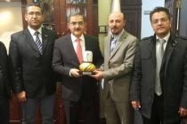 KONTİMDER Yönetim Kurulu Selçuk Üniversitesi Rektörü Prof. Dr. Mustafa Şahin'i ziyaret etti.