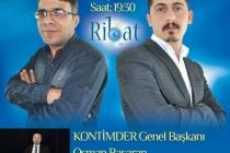 KONTİMDER Başkanı Osman Başaran Ribat Radyosu Eko Diyalog programına katıldı.
