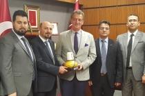 KONTİMDER Heyeti Konya ve Karaman Milletvekillerini ziyaret etti.