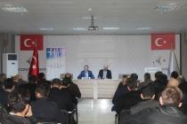 İŞKUR Konya İl Müdürü Emrah Keleş, üyelerimize