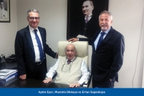 TİMDER Yönetimi Mustafa Dikkaya'yı Ziyaret Etti