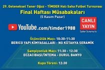 Futbol Turnuvası CANLI YAYIN