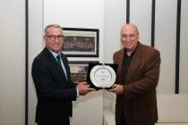 İMDER Yönetim Kurulu Bien Yapı Ürünleri Satış Grup Başkanı Metin Savcı'yı ziyaret etti.