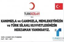 TİMKODER'DEN KIZILAY'A KAN BAĞIŞI