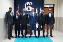 Konya Cumhuriyet Başsavcısı Ramazan Solmaz'a hayırlı olsun ziyaretine gittik