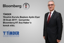 TİMDER Başkanı Aydın Eşer; Bloomberg HT Ana Haber'e Konuk Oldu