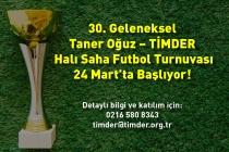 TİMDER Futbol Turnuvası Başlıyor