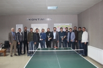 KONTİMDER 3. Masa Tenisi Turnuvası tamamlandı.