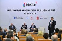 """Türkiye İMSAD Gündem Buluşmaları: """"Fırtınalı Havada Dümende Olmak"""""""
