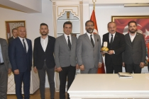 Konya İl Emniyet Müdürü Mustafa Aydın'ı ziyaret ettik.