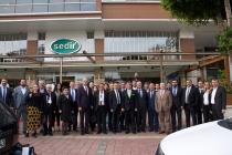 TİMFED Yönetim Kurulu Üyeleri, Antalya'da Bir Araya Geldi