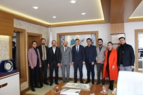 Konya Tapu ve Kadastro Bölge Müdürü V. Mustafa Akkul'u ziyaret ettik.
