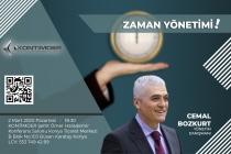 KONTİMDER Seminer: Zaman Yönetimi 2 Mart 2020 Pazartesi Saat: 18.30