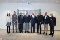 TİMDER Yönetim Kurulu, Eczacıbaşı Topluluğu Ceo'su M. Atalay Gümrah'ı Ziyaret Etti