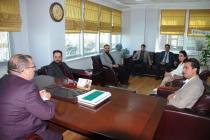 İnşaat Mühendisleri Odası Konya Şube Başkanı Dr. Süleyman Kamil Akın'ı ziyaret ettik.