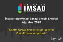 'Türkiye İMSAD İnşaat Malzemeleri Sanayi Bileşik Endeksi' Ağustos Ayı Sonuçları Açıklandı