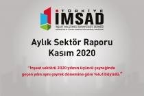 Türkiye İMSAD Kasım 2020 Sektör Raporu Açıklandı