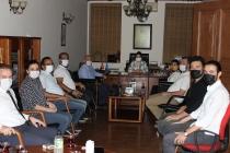 5 Ekim Dünya Mimarlar Günü vesilesiyle Mimarlar Odası Konya Şubesini ziyaret ettik.