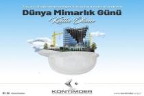 Dünya Mimarlar Günü Kutlu Olsun