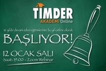 TİMDER Akademi 12 Ocak'ta Başlıyor