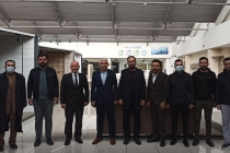 Geçen dönem KONTİMDER Yönetim Kurulunda görev alan Altan Aktaş işyerinde ziyaret ederek, derneğe yaptığı katkılardan dolayı teşekkür plaketi takdim edildi..