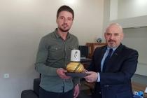 KONTİMDER Yönetim Kurulu Üyesi Mehmet Uslu işyerinde ziyaret edildi.