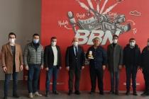 KONTİMDER Yönetim Kurulu Üyesi Mehmet Yenikaynak, işyerinde ziyaret edildi.