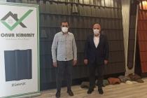 KONTİMDER üyesi Onur Karakoyun işyerinde ziyaret edildi.
