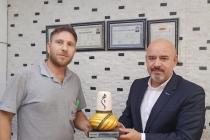 ONTİMDER üyesi Mustafa İnanç, işyerinde  ziyaret edildi.