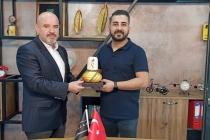 KONTİMDER Yönetim Kurulu Üyesi Erkan Başar, işyerinde  ziyaret edildi.