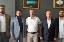 Meram Belediyesi İmar ve Şehircilik Müdürü Mehmet Usta'ya hayırlı olsun ziyareti