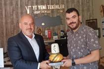 KONTİMDER Yönetim Kurulu Üyesi Mustafa Tekin, işyerinde  ziyaret edildi.