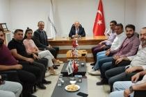 ASKON Konya Şubesi Başkanı Atilla Sinacı ve yönetim kurulu üyeleri KONTİMDER'i ziyaret etti.