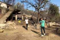 KONTİMDER Heyeti, Manavgat yangınından etkilenen köyleri ziyaret etti.