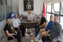 Dernek geçmiş dönem yönetim kurulu üyemiz Murat Mısır iş yerinde ziyaret edildi.