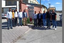 Geçmiş dönem yönetim kurulu üyemiz Necip IŞIK  iş yerinde ziyaret edildi.