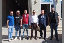 Geçmiş dönem yönetim kurulu üyemiz Mustafa DİŞLİ iş yerinde ziyaret edildi.