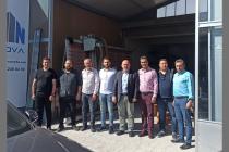 Dernek Başkan Yardımcısı Orhan Kürkdiken'in yeni iş yerine hayırlı olsun ziyaretine gidildi