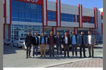 Geçmiş dönem dernek başkan yardımcısı  Ersin ARSLAN   iş yerinde ziyaret edildi.