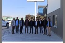 Dernek Üyemiz Murat TÜRK yeni iş yerinde ziyaret edildi.