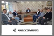 Yeni Meram  Gazetesi Genel Müdürü Mehmet Hançerli, Genel Yayın Yönetmeni Muhammet Gümüş ziyaret edildi